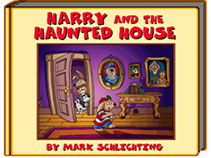 Harry and the Haunted house Cover