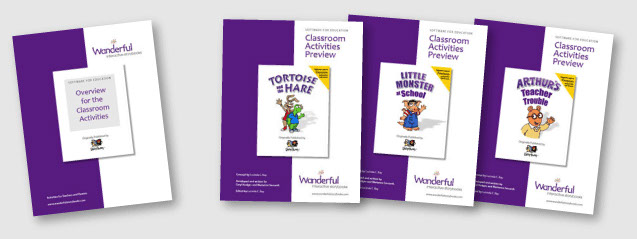 Wanderful Classroom Activites Guides