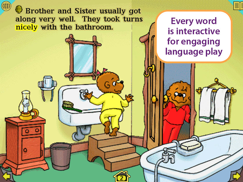 LivingBooks Berenstain Bears Get In A Fight